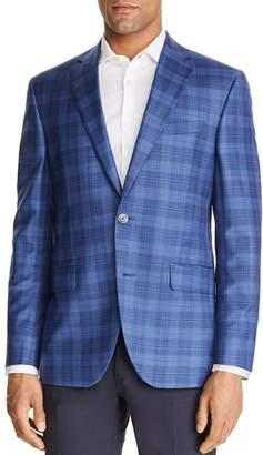 Jack Victor Plaid Regular Fit Sportcoat