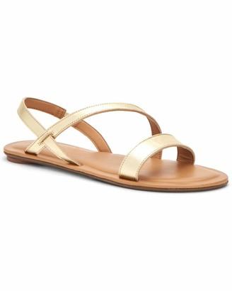Aquatalia Aria Leather Strappy Sandal
