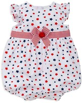 Little Me Infant Girls' Stars Sunsuit - Sizes 3-12 Months
