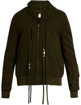 Damir Doma Johnson felted wool-blend field jacket