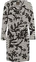 Vivienne Westwood Draped Printed Cotton-Jersey Dress