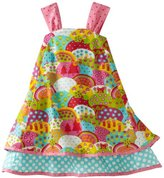Jelly The Pug Girls 2-6X Happy Patty Dress