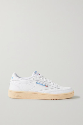 Reebok Club C 85 Leather Sneakers - White