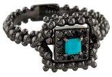Carla Amorim 18K Diamond & Turquoise Ring