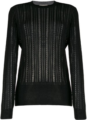 Marco De Vincenzo Sheer Knitted Jumper