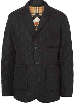 Burberry quilted thermoregulated blazer