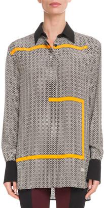 Givenchy 4G Long-Sleeve Blouse