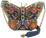 Mary Frances Butterfly Art Handbag