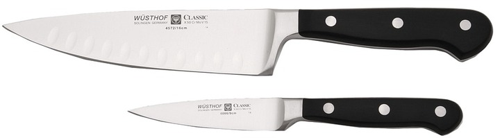 Wusthof Classic 2-Piece Chef Set (Black) - Home