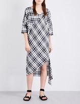 Rachel Comey Greatful checked cotton midi dress