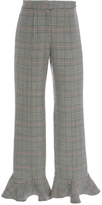 Rosie Assoulin Front Thigh Seam Pant