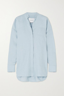 BONDI BORN Everywhere Linen Shirt - Sky blue