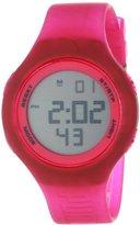 Puma 'Loop' Quartz Plastic and Polyurethane Sport Watch, Color:Pink (Model: PU910801025)