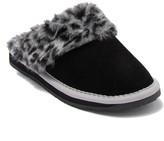 Minnetonka Traditional Scuff Faux Fur Lined Slipper