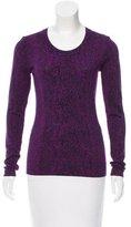 Diane von Furstenberg Neva Metallic Sweater