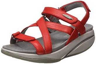 MBT Women's Kiburi W Open Toe Sandals, Red 06