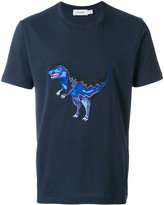 Coach dinosaur embroidered T-shirt - men - Cotton - M