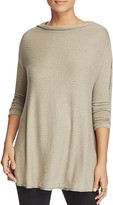 Free People Lover Asymmetrical Off the Shoulder Sweater
