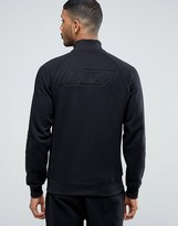 Emporio Armani Zip Thru Sweatshirt With Back Logo
