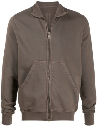 Rick Owens Funnel Neck Zip-Up Sweatshirt