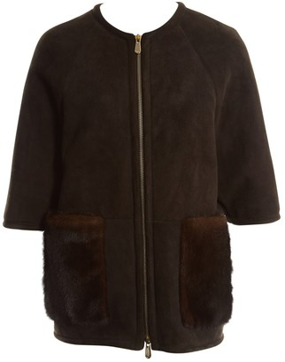 Christian Dior Brown Suede Jackets