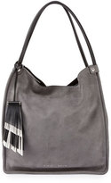 Proenza Schouler Medium Nubuck Leather Tote Bag, Heather Gray