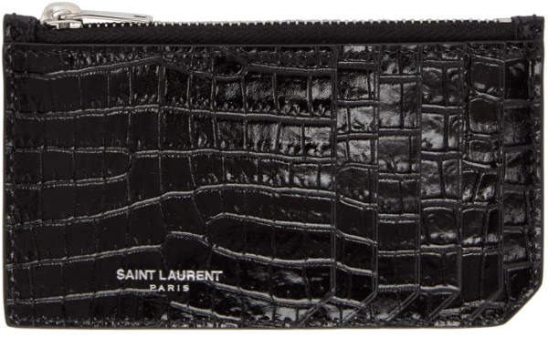 3fcdc4d6419 Black Wallet With Card Holders - ShopStyle