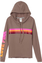 PINK Raw Edge Pullover