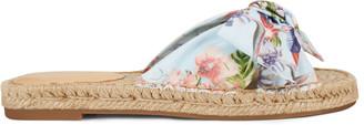 Nine West Blanche Espadrille Slide Sandals