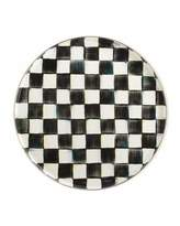 Mackenzie Childs MacKenzie-Childs Courtly Check Round Enamel Tray