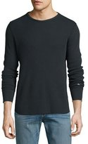 Rag & Bone Standard Issue Thermal T-Shirt, Black
