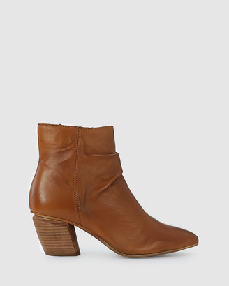 EOS Women's Brown Heeled Boots - Attica - Size One Size, 37 at The Iconic
