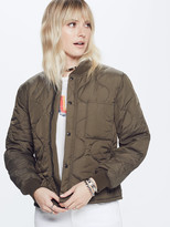Mother Quilted Bomber Jacket - Air Time