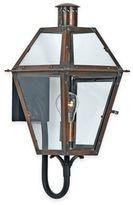Quoizel Rue de Royal Wall Mount Lantern in Aged Copper