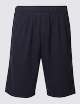 M&S Collection Elastic Waist Sweat Shorts