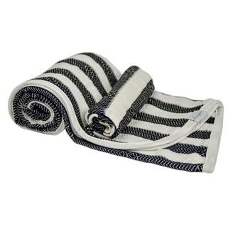 House Of Jude Hooded Turkish Towel and Wash Cloth Bundle - Ebony