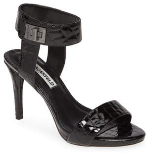 Karl Lagerfeld Paris Olivia Ankle Strap Sandal