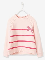Vertbaudet Girls Striped Sweatshirt