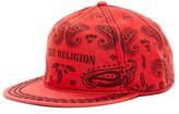 True Religion Bandana Baseball Cap