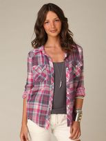 Trimmed in Gingham Shirt