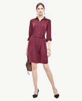 Ann Taylor Petite Refined Shirtdress