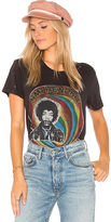 Lauren Moshi Wolf Jimi Hendrix Classic Tee in Black. - size L (also in M,S)