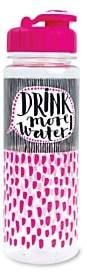 Rachel Ellen Drink More Water Bottle, 500ml
