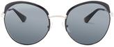 Prada Top Rimmed Polarized Sunglasses