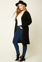 Forever 21 FOREVER 21+ Plus Size Longline Cardigan