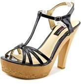 Chinese Laundry Elise Better Day Open Toe Patent Leather Platform Heel.