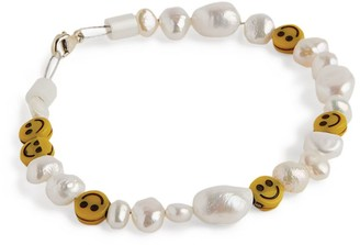 WALD BERLIN Smiley Dude Pearl Bracelet