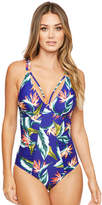 Figleaves Palm Springs Underwired Strapping Tummy Control Swimsuit