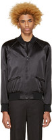 Valentino Black rockstud Untitled 14 Bomber Jacket