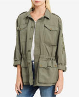 Calvin Klein Jeans Cotton Embroidered Utility Jacket